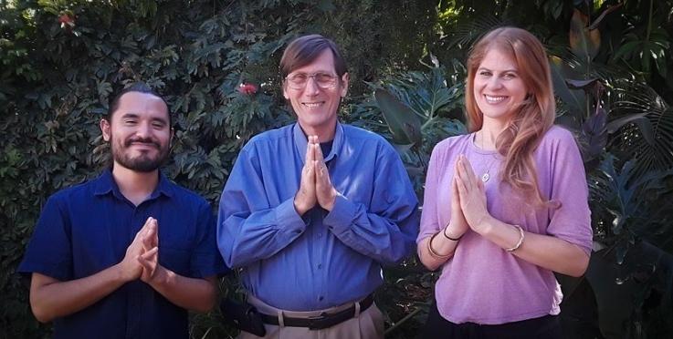 happy devotees